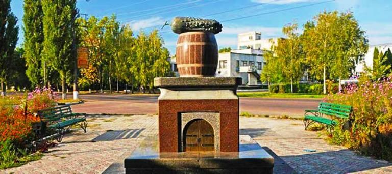 Пам'ятник огірку