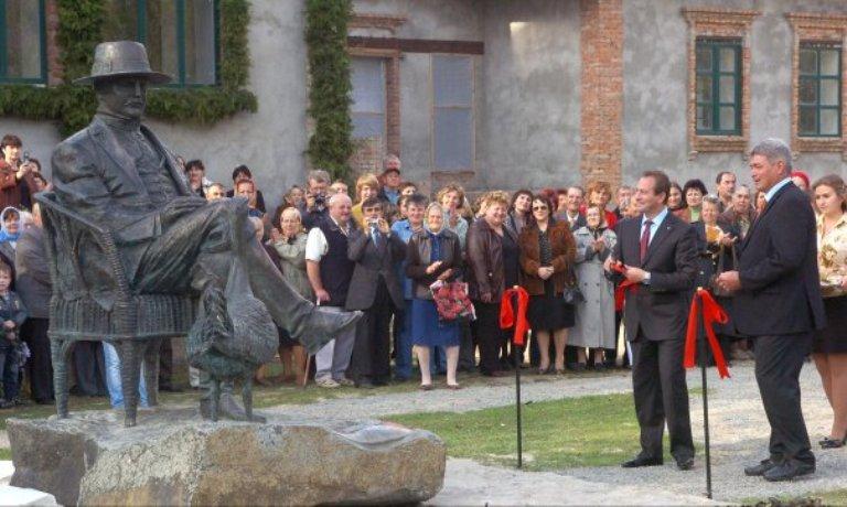 Під час відкриття пам'ятника Фельц-Фейну