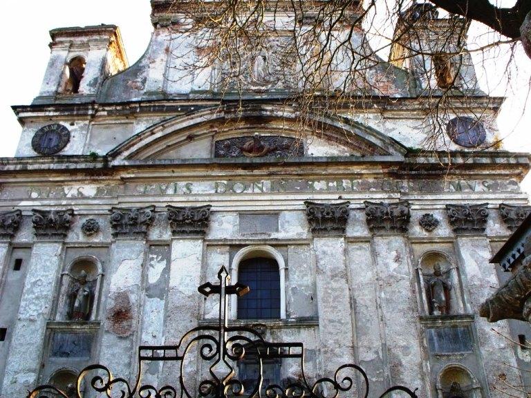 Троїцький костел-усипальниця Радзивілів. Фото грубаскУ