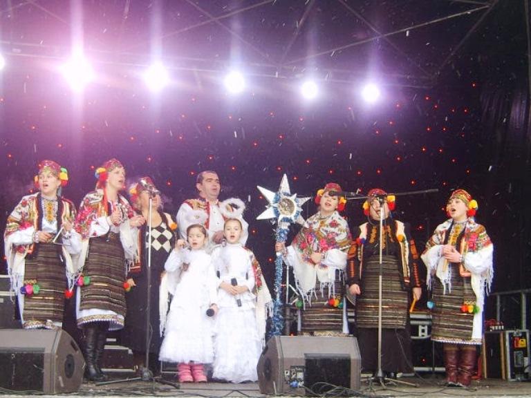Різдвяний концерт фото: Будинку культури Шахтар