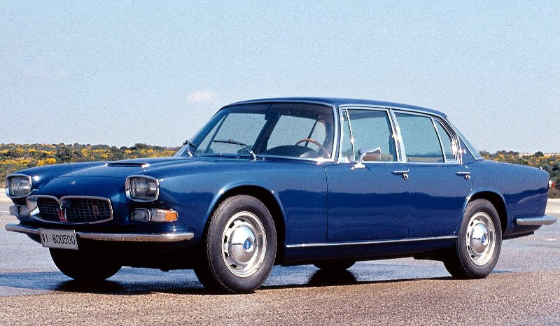 Maserati_Quattroporte_Sedan_1963