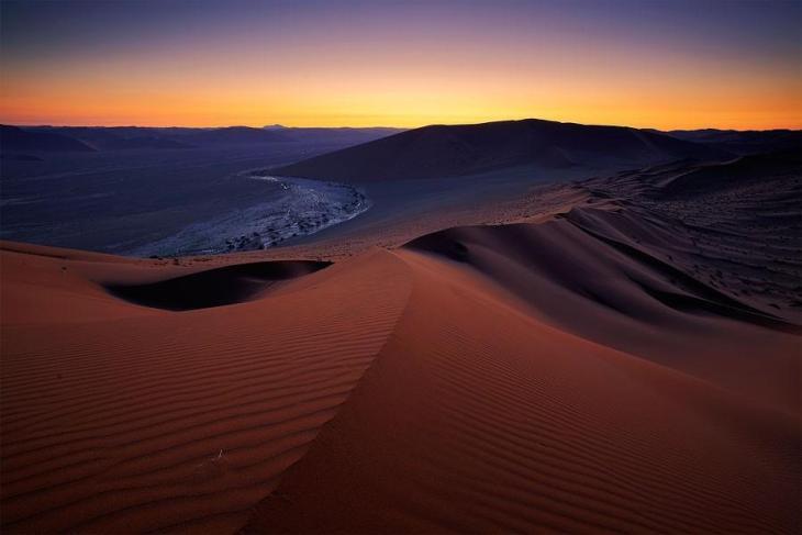 Фантастичні краєвиди пустельної Намібії (8)