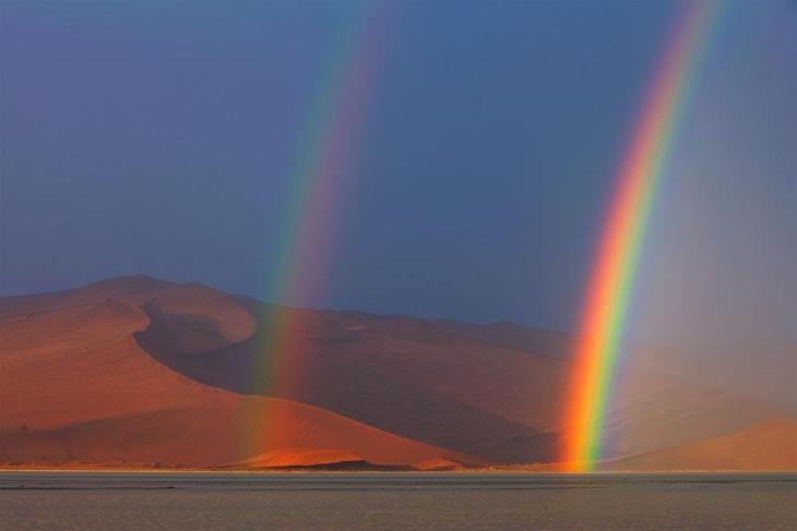 Фантастичні краєвиди пустельної Намібії (5)