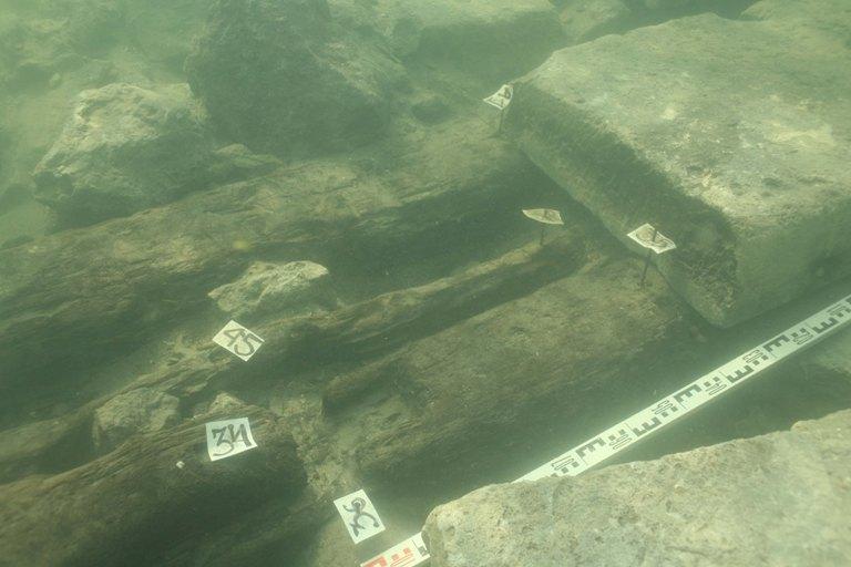 Фантагорія. Деталь підводного фундаменту