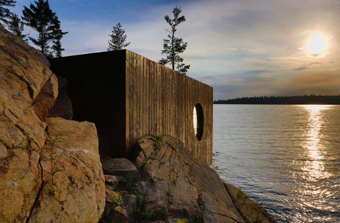 Сауна на березі озера Гурон (Канада)