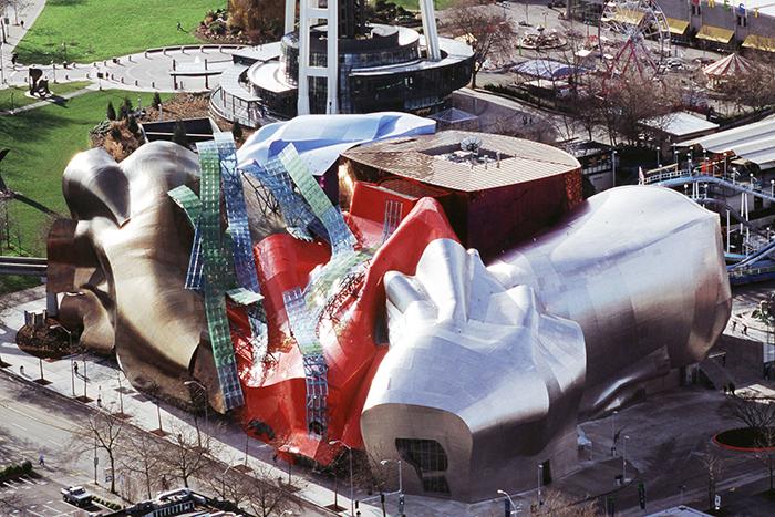 Музей музики з висоти пташиного польоту