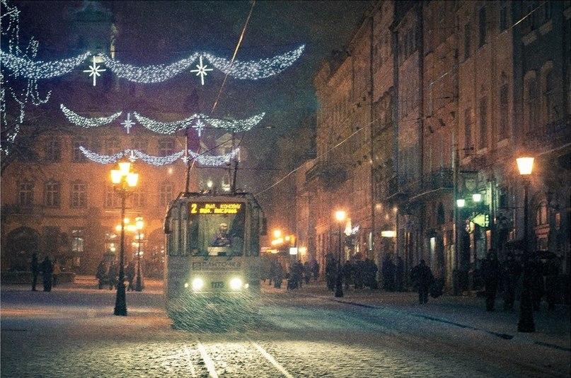 Львівська зима Фото: Maxim Kuhar