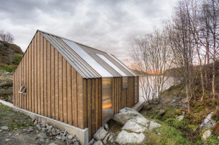 Прекрасний човновий будинок для літнього відпочинку в Норвегії