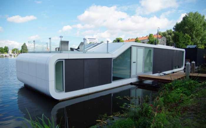 Багатофункціональний будинок в стилі мінімалізм