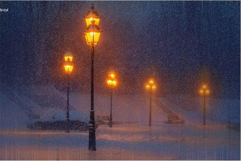 Зимовий вечір в Одесі Фото: Роман Крецул
