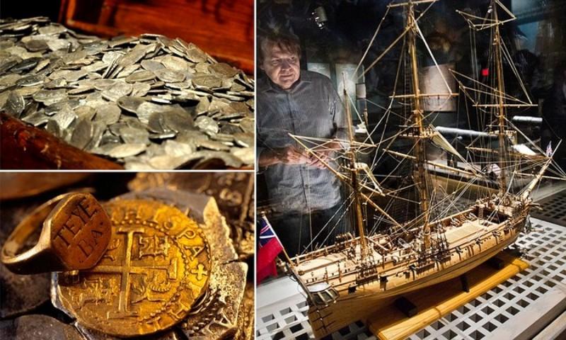 Піратський корабель Whydah і його скарби.