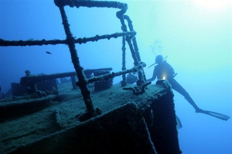 SS Republic на дні океану