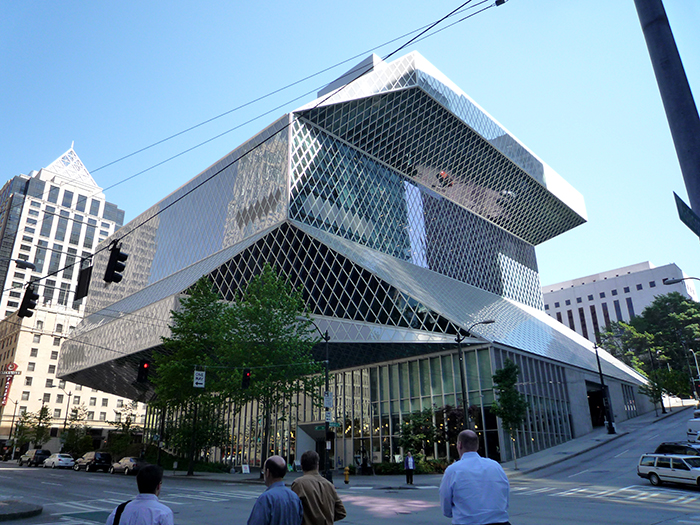 Центральна бібліотека в Сієтлі