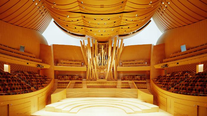 Інтер'єр концертного залу