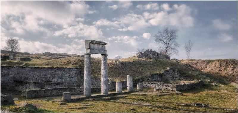 Залишки античного Пантикапею в Керчі фото: Jazz Man