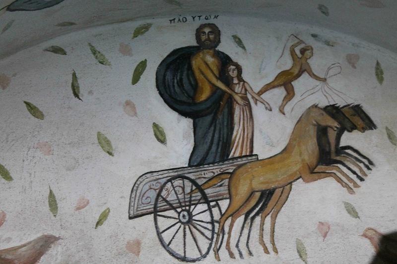 Плутон (Аїд), який викрав Кору (Персефону)   фото: ankerch-crimea.ru