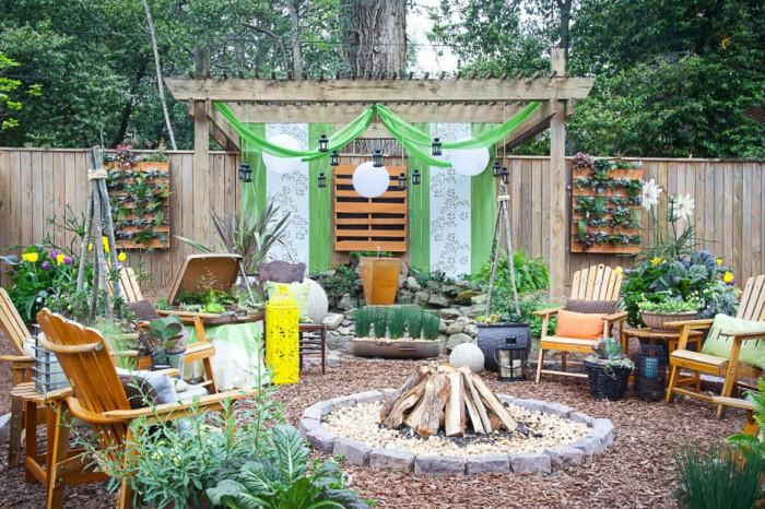 Чудове місце для відпочинку на задньому дворі