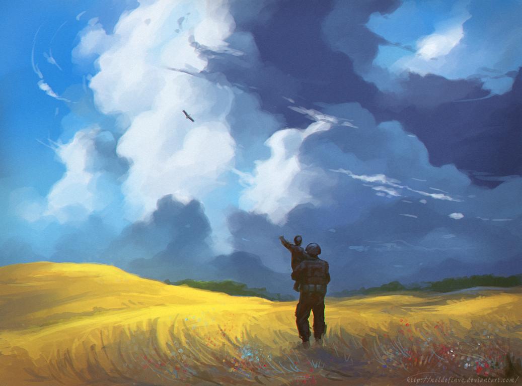 Прощание с командиром 3-го батальона 72-й бригады Андреем Жуком (Маугли) - Цензор.НЕТ 4652