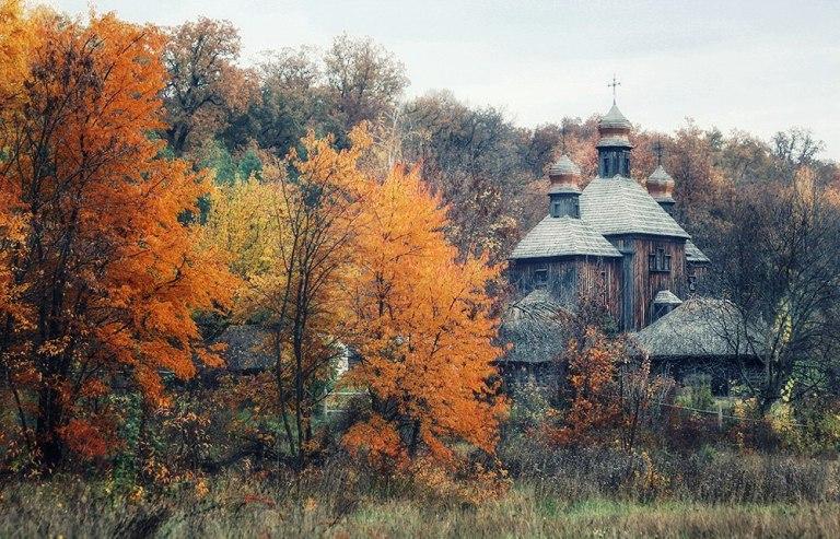 Осінь у Пирогові (Фото Tina Grach)
