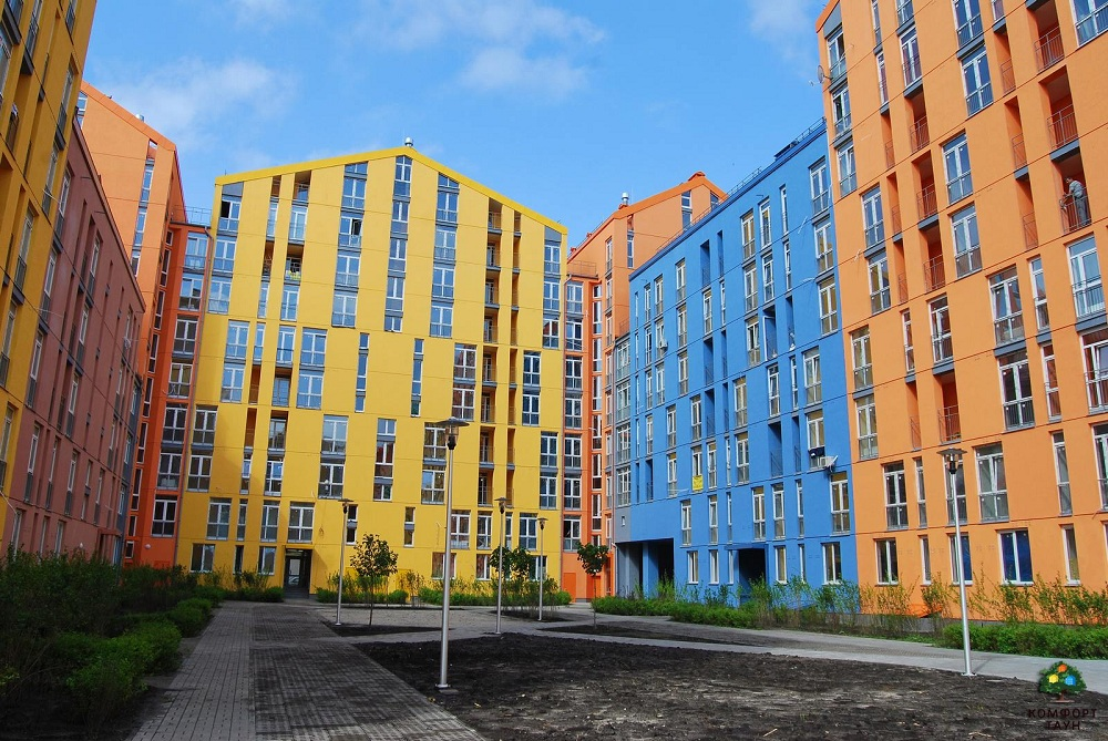 Житловий квартал Комфорт Таун. Фото: http://comforttown.com.ua/