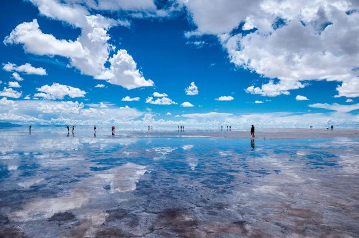 Соляна пустеля Салар-де-Уюні. Болівія. Автор фото: Antony Harrison.
