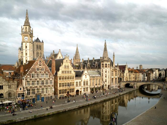 Гент. Бельгія