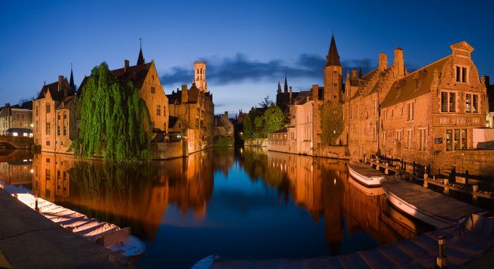 Брюгге. Бельгія