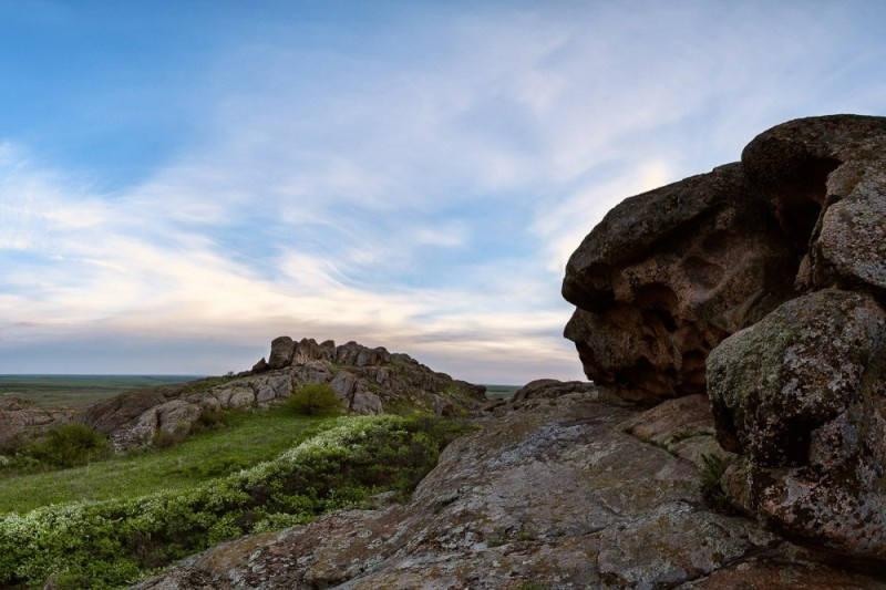 Назарівка, Донецька область. Гірська країна в мініатюрі. Фото Дмитра Балховітіна
