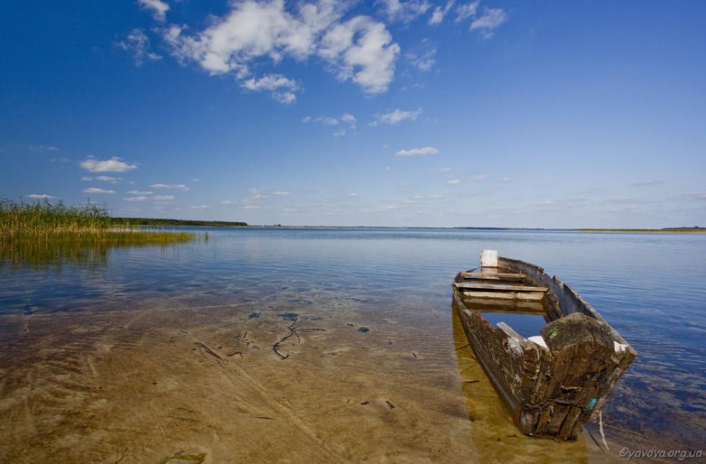 Озеро Світязь Шацьк Волинь. фото: yavova.org.ua