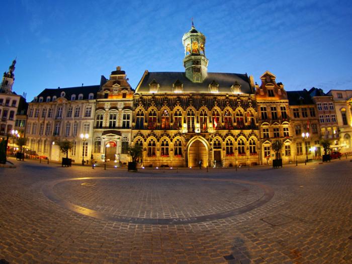 Місто Монс. Бельгія