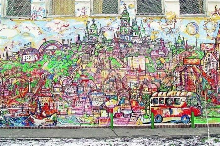 Київський пейзаж від Михайла Химича на Оболоні