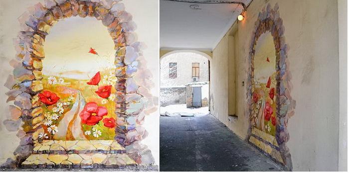 Кращі зразки стріт-арту в Києві: графіті «Маки»