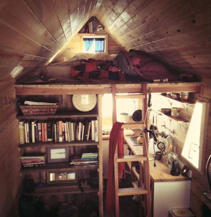 Чудовий спосіб економного використання вільного простору в будинку