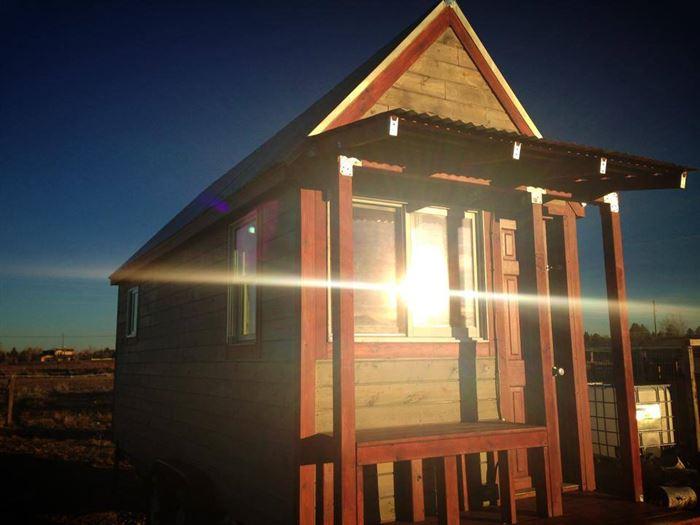 Ще один маленький дерев'яний будиночок в Колорадо
