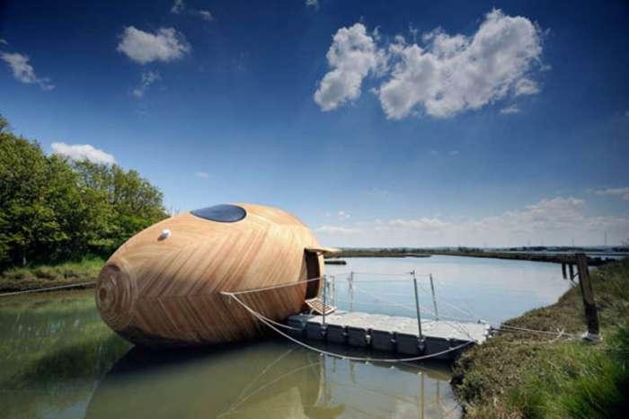 «Плаваючий» будинок у Великобританії