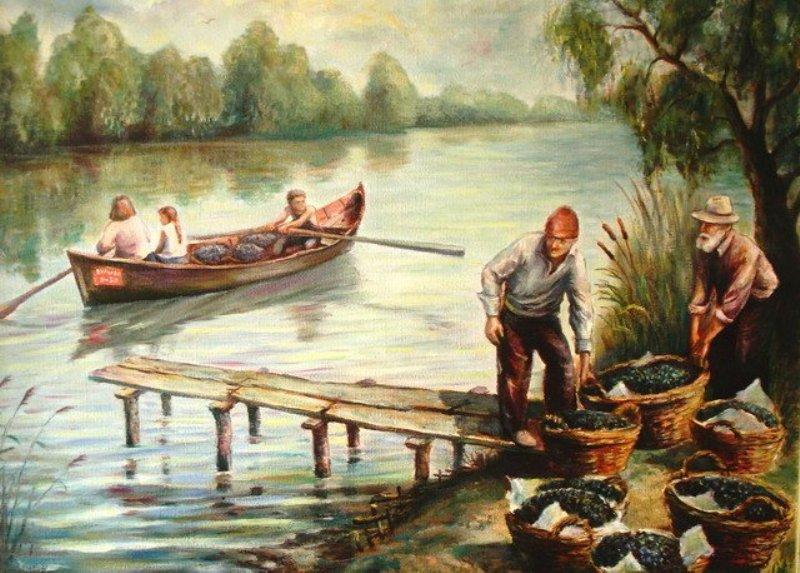 Картини А. Шаронова. м. Вилкове