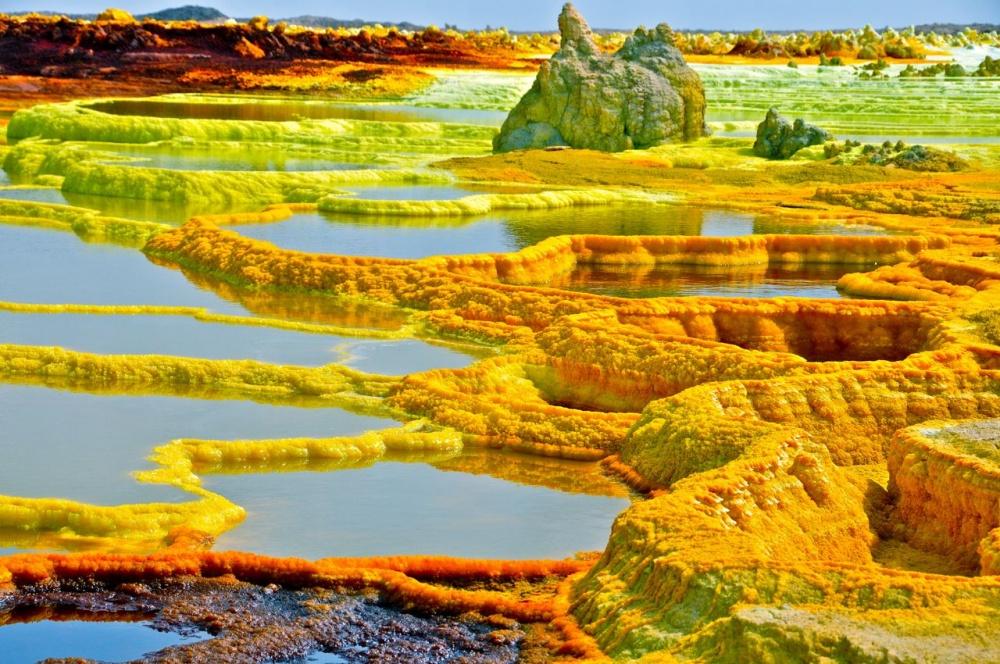 фото: Desierto de Danakil