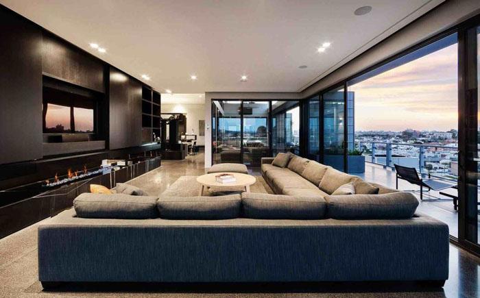 Вітальня від австралійської студії JAM Architects