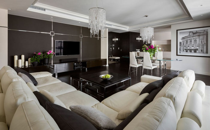 Інтер'єр вітальні від HOLA Design