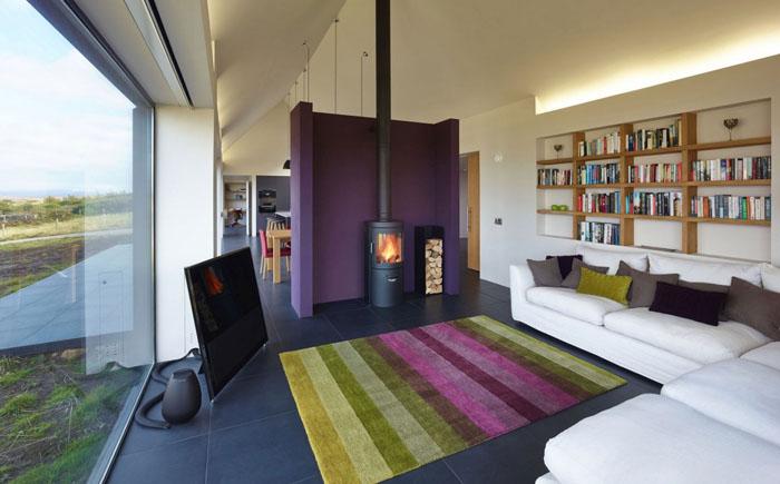 Вітальня від шотландської студії Dualchas Architects