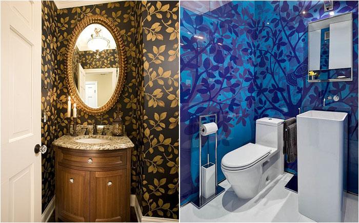 Різноманітність колірної гами в інтер'єрі ванних кімнат