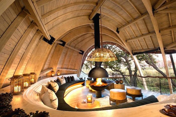 Sandibe Okavango Safari Lodge - еко-готель в Ботсвані