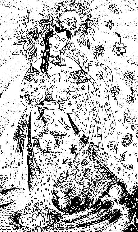 Культ П ятниці або Богині давньої української міфології  857df3818fcbe