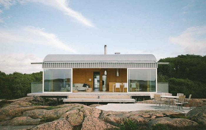 Літній будиночок у Швеції площею 90 кв. метрів
