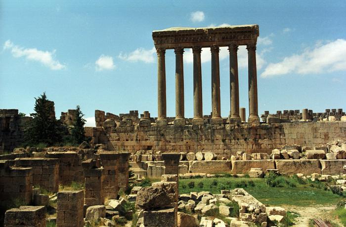 Баальбек в сучасному Лівані