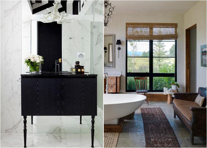 Ванна кімната в стилі дому