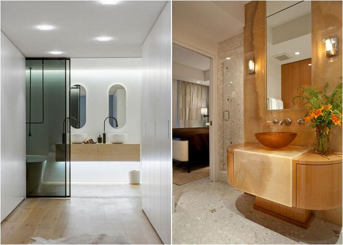Багаторівневе освітлення у ванній