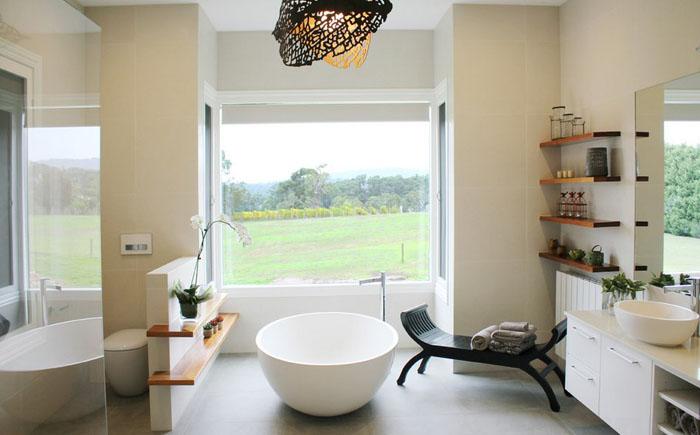 Інтер'єр ванної від Jasmine McClelland Design
