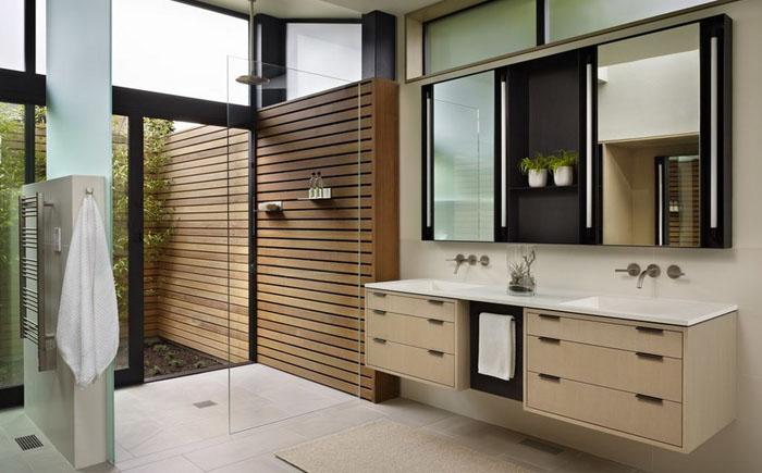 Інтер'єр ванної від DeForest Architects