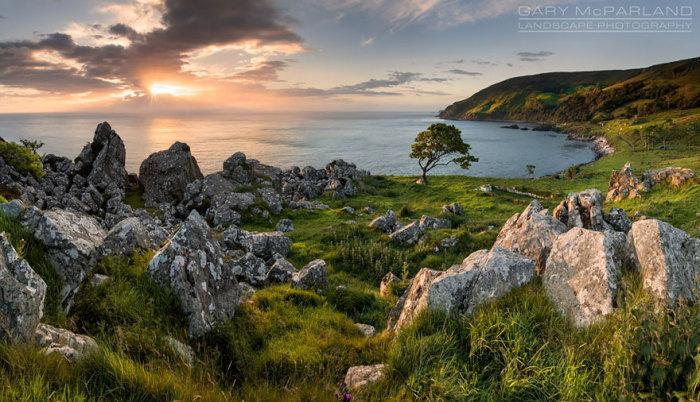 Залізний острів: затока Мурлоу, Північна Ірландія. Автор фото: Гері МакПарленд.